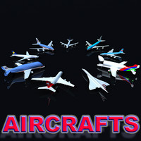 Aircraft Collection 3D Models